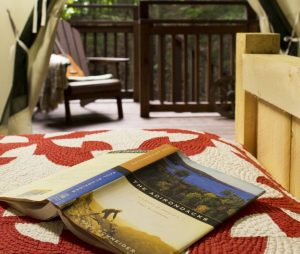 Canvas cabins, Adirondack camping, canvas cabin