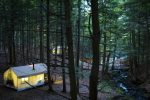 glamping, Adirondack luxury camping, New York, Upstate, Canvas cabins, Adirondack camping, canvas cabin, tent camping