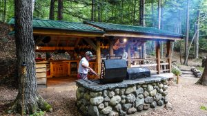 Rustic meals, Glamping United States, Glamping New York, luxury camping
