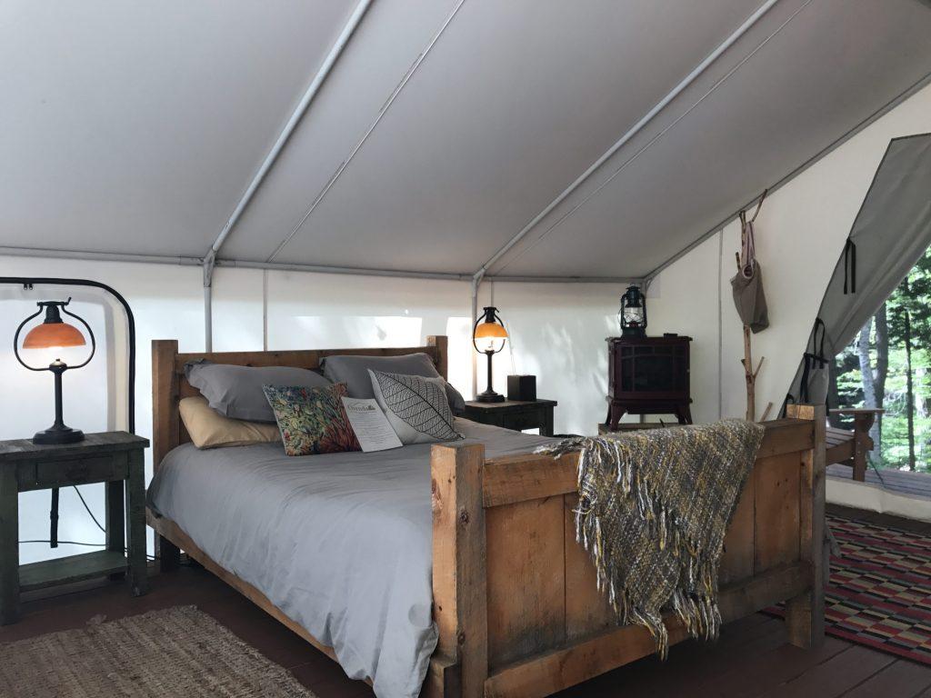 adirondack camping, family camping